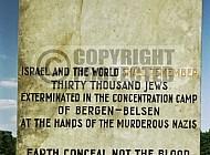 Bergen Belsen Jewish Memorial 0013