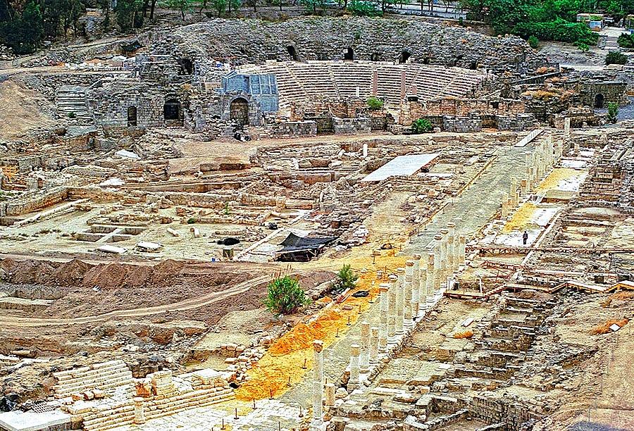 Beit She'an Roman Ruins 002