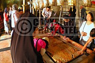 Jerusalem Holy Sepulchre Stone Of Anointing 009