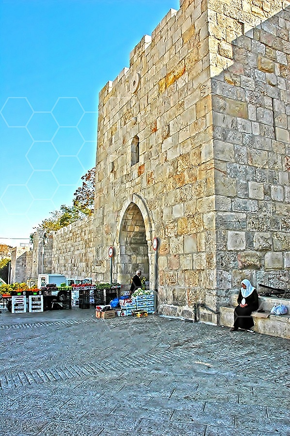 Jerusalem Old City Herods Gate 004