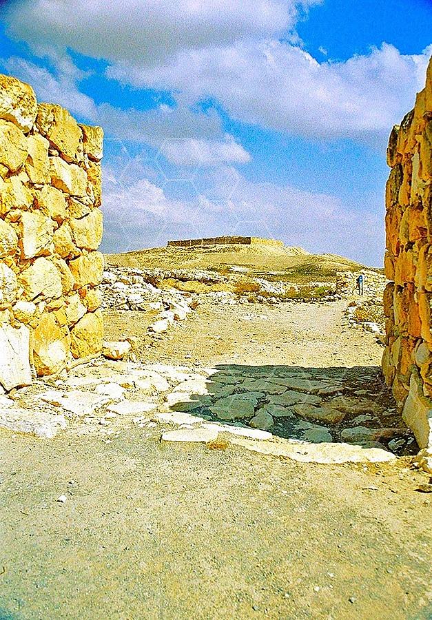 Tel Arad Gate 004
