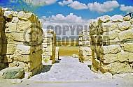 Tel Megiddo Gate 001