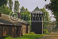 Auschwitz Watchtower Camp Wall 0006