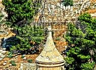 Jerusalem Absalom Tomb 010