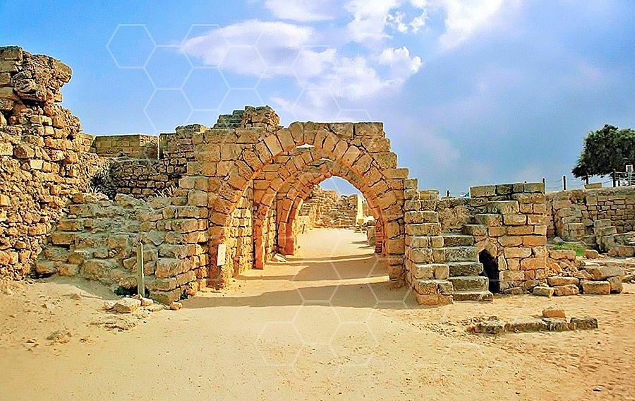 Caesarea Roman Arches 006