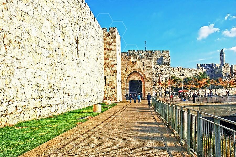 Jerusalem Old City Jaffa Gate 009