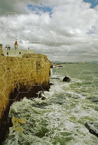 Akko Sea Wall 0006