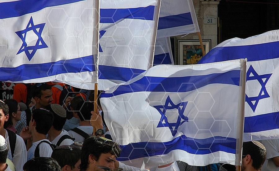 Israel Flag 048
