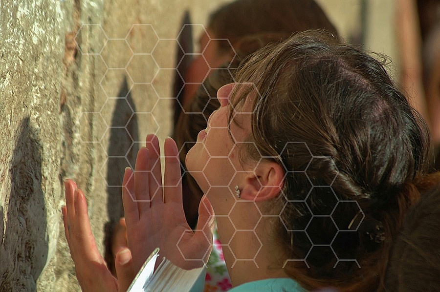 Kotel Women Praying 034