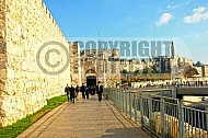 Jerusalem Old City  Walls 023