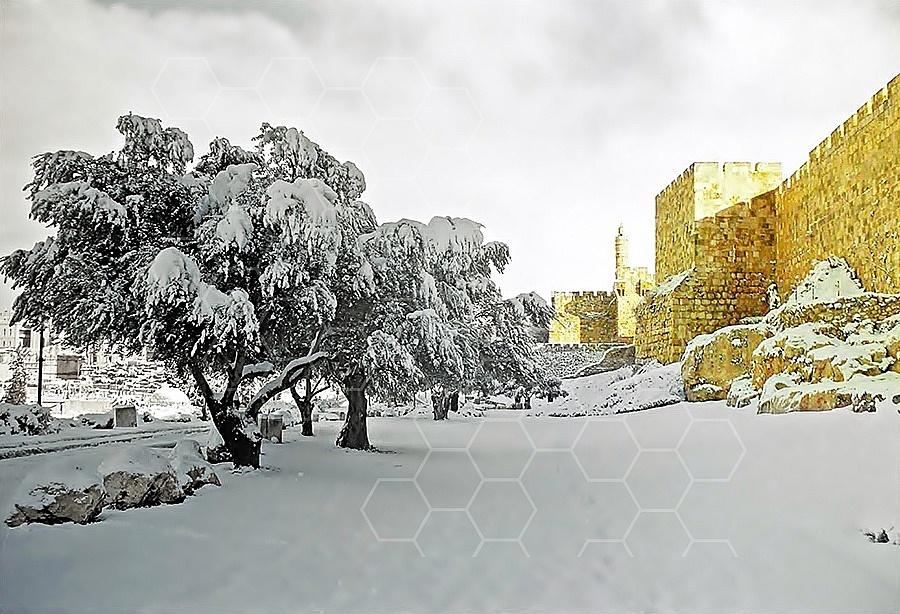 Jerusalem Snow 001