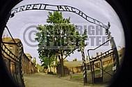 Auschwitz Camp Gates 0013