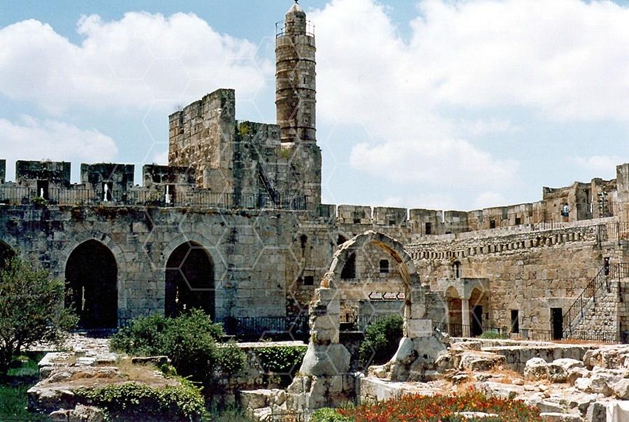 Jerusalem Old City David Tower 033