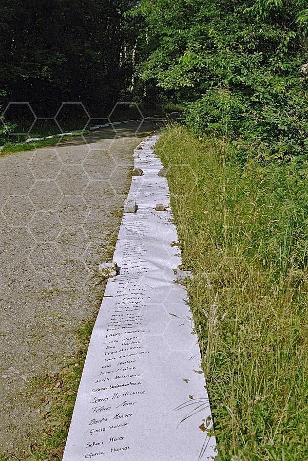 Bergen Belsen Memorial with Inmates Names 0004