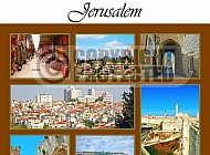 Jerusalem Photo Collages 020