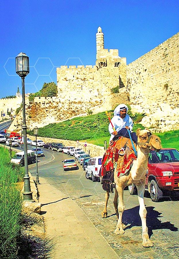 Jerusalem Old City David Tower 027