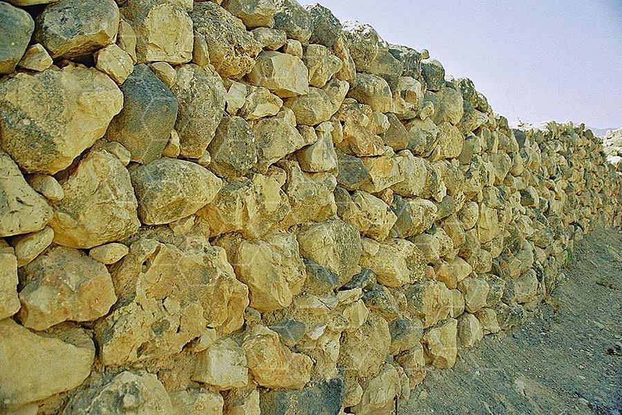 Tel Hazor Walls 001
