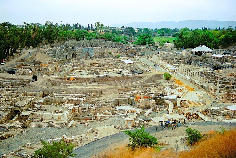 Beit She'an Roman Ruins 006