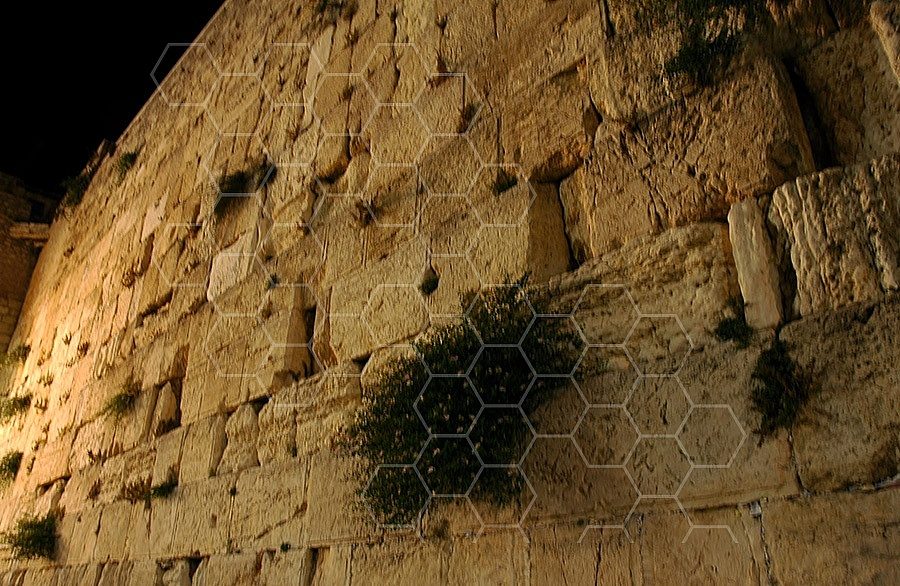 Kotel View At Night 008
