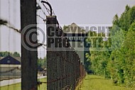 Dachau Fence and Wachtower 0014